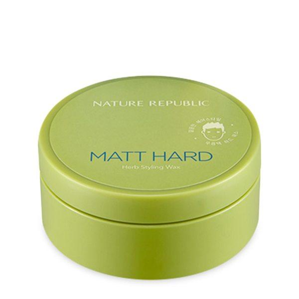 Sáp Tạo Kiểu Tóc Siêu Cứng Nature Republic Matt Hard Herb Styling Wax
