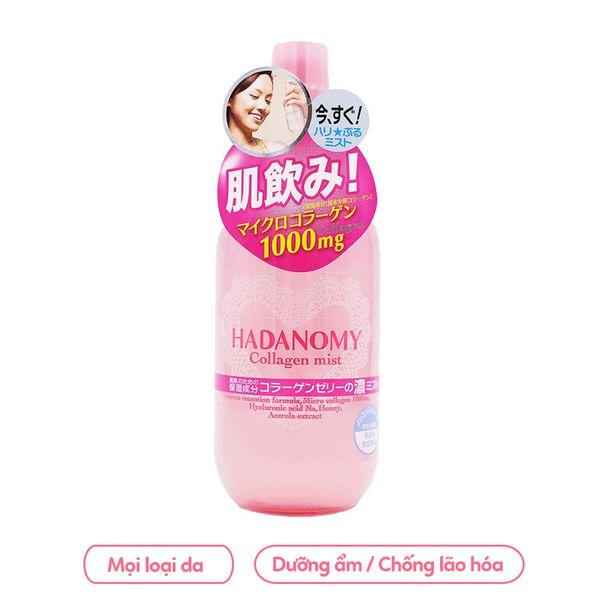 Xịt Khoáng Hadanomy Collagen Mist 250ml Nhật Bản