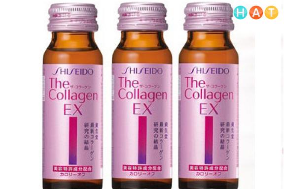 Shiseido Collagen Ex Dạng Nước – 1 Hộp 10 Lọ