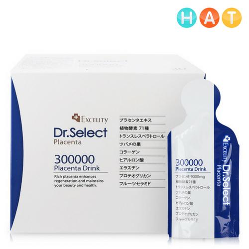 Nhau Thai Heo Dr. Select Placenta Drink 300000 – Hộp 15g x 30 gói