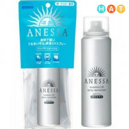 KCN ANESSA Shiseido dạng xịt SPF50-50g