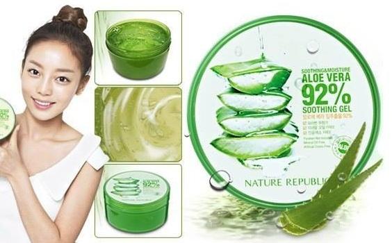 Cảm nhận khi sử dụng gel nha đam Nature Republic