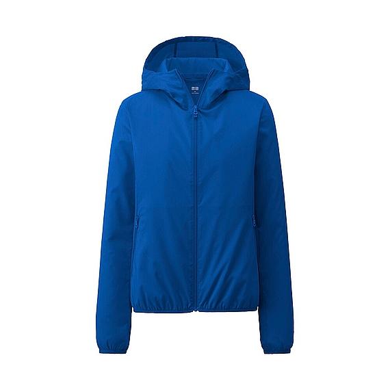 Áo Chống Nắng Nhật Uniqlo Vải Dù (68 blue)