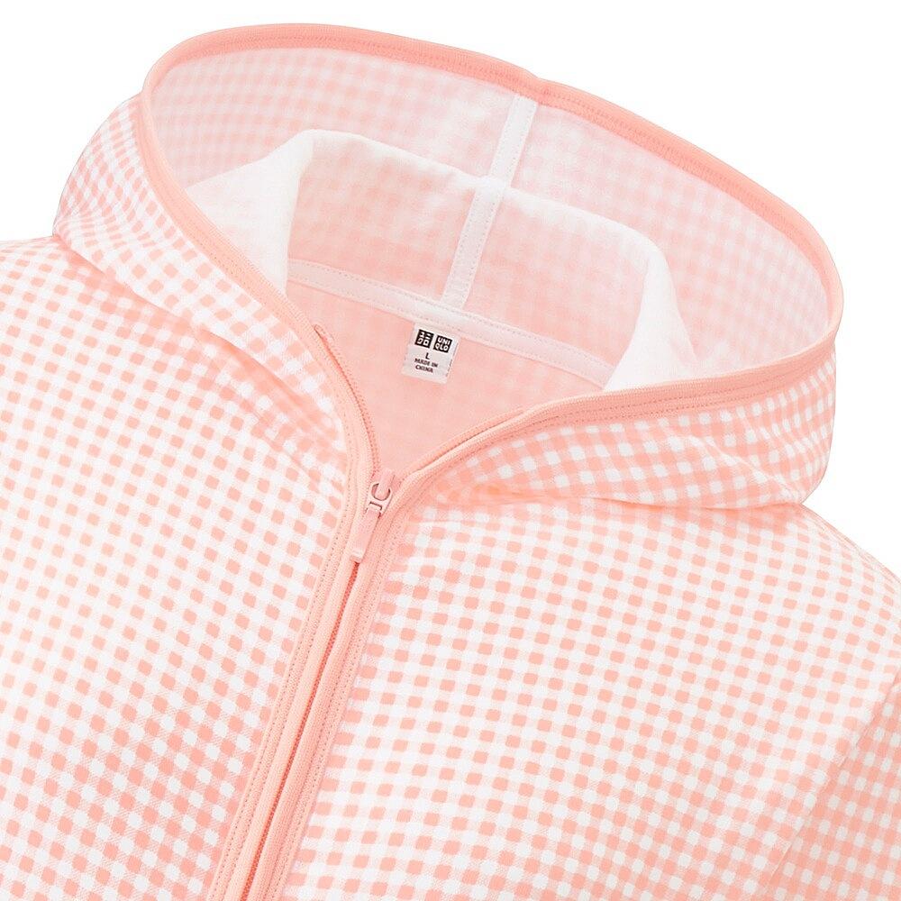 Áo Chống Nắng Nhật Uniqlo 2016 (10 Pink caro)