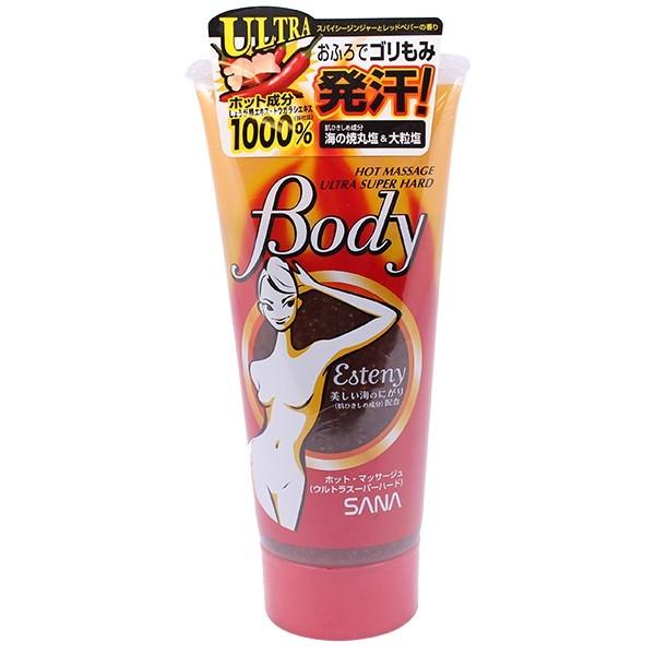 Kem Tan Mỡ Bụng Esteny Hot Body Massage Gel SANA 240g