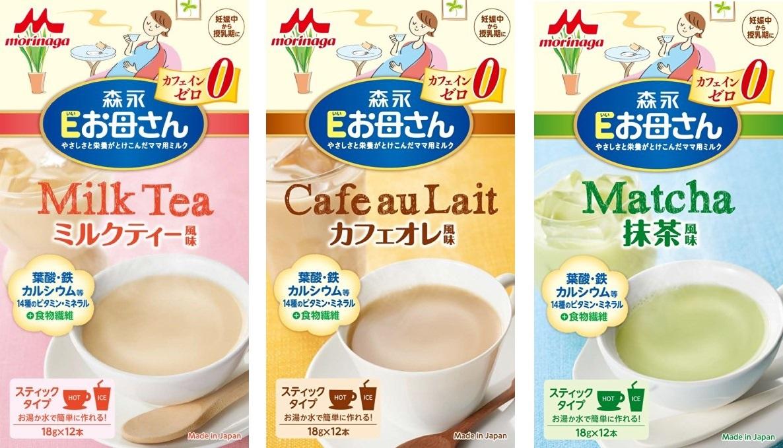 Sữa Bầu Morinaga Nội Địa Nhật 18gr x 12 Gói Vị Trà sữa