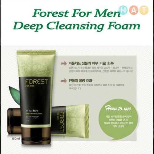 SRM Hàn Quốc Cho Nam Innisfree Forest For Men Cleansing Foam Fresh 150ml