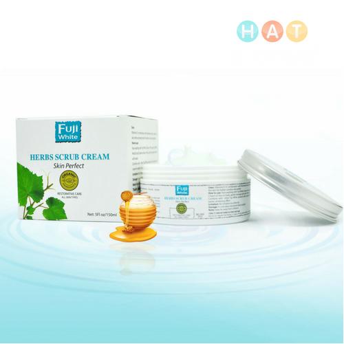 Kem Tẩy Tế Bào Chết Fuji White (Herb Scrub Cream)