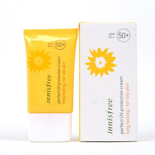 Kem chống nắng Innisfree perfect UV protection cream for oily skin