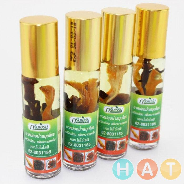 Dầu lăn Thái Lan Green Herb oil Thailand 8ml (2018 model)