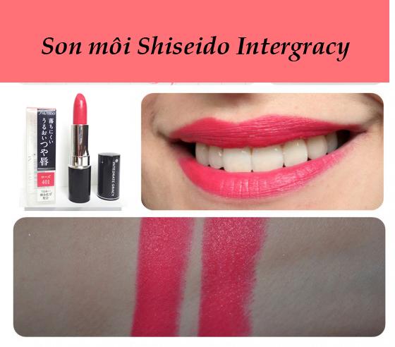 Son mô Shiseido Nhật Bản