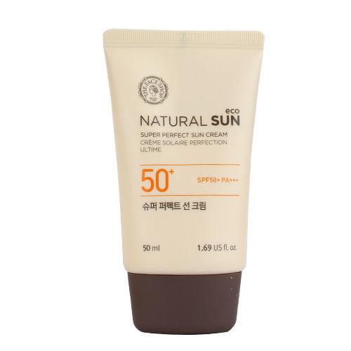 Kem Chống Nắng Tăng Cường NATURAL SUN ECO SUPER PERFECT SUN CREAM SPF50+ PA+++