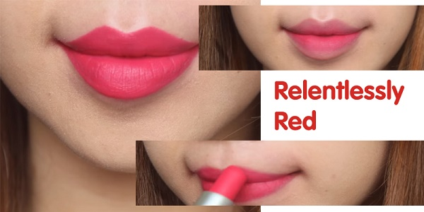 Mac Relentlessly Red với màu đỏ hồng san hô cực thu hút, không hề kén da