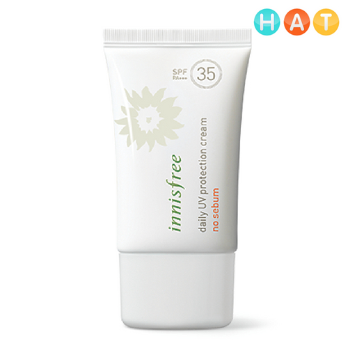KCN Kiềm Dầu Innisfree Daily UV Protection Cream No Sebum SPF35 PA+++ 50ml