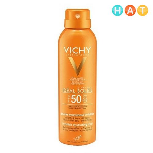 KCN VICHY TOÀN THÂN DẠNG XỊT SPF 50 UVA + UVB 50ml