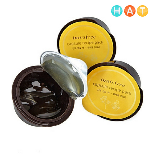 Mặt Nạ Innisfree Capsule Recipe Pack – Canola Honey 10ml Dưỡng Ẩm Sâu