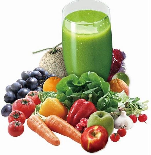 Sinh tố giảm cân green berry smoothie dietcó 2 màu, 2 hương vị