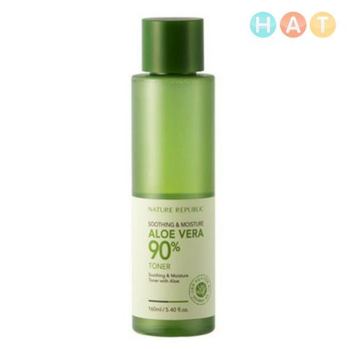 Smoothing & Moisture Aloe Vera Toner 90% – 160ml