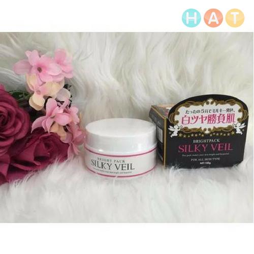 Kem Trắng Da Toàn Thân Silky Veil 100g Nhật Bản