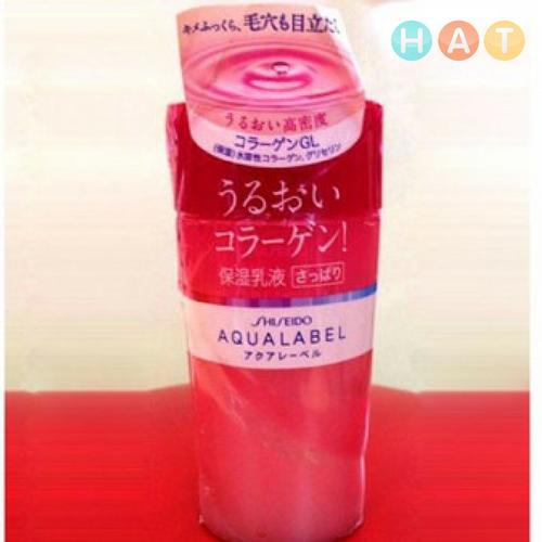 Sữa Dưỡng Da Shiseido Aqualabel White Up Emulsion màu đỏ