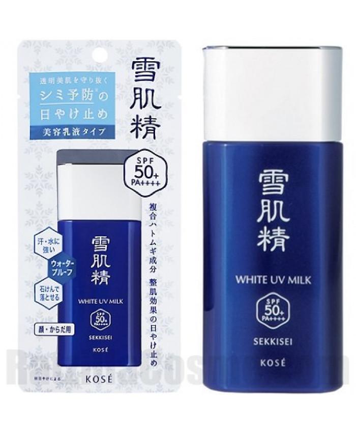 Kem Chống Nắng Kose Sekkisei Sun Protect Milk 60g {Mẫu Mới}