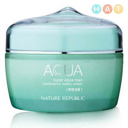 Kem Dưỡng Da Super Aqua Max Combination Watery Cream