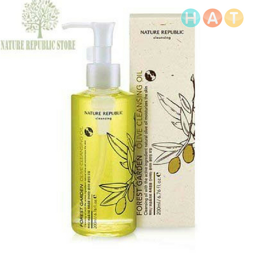 Dầu Tẩy Trang Forest Garden Olive Cleansing Oil 200ml