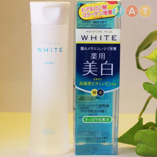 Sữa Dưỡng Trắng Da Kosé Moisture Mild White Milky Lotion 140ml