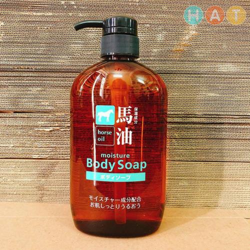 Sữa Tắm Mỡ Ngựa Nhật – Horse Oil Moisture Body Soap
