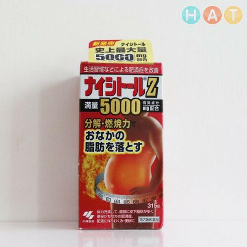 Thuốc Giảm Cân Naishitoru Z5000 Nhật Bản