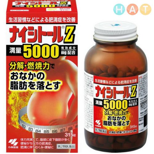 Thuốc Giảm Cân Naishitoru G3100 Nhật Bản