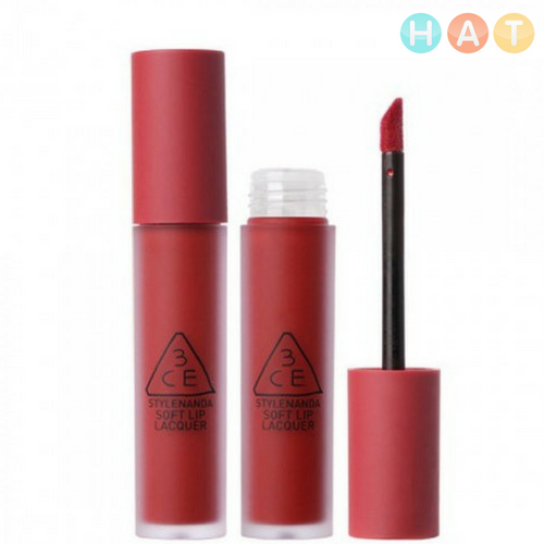 3CE Soft Lip Lacquer Change Mode – Đỏ Lạnh 6g