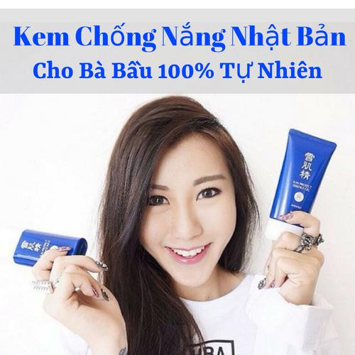 TOP 2 [Kem Chống Nắng Dành Cho Bà Bầu Của Nhật] 100% Organic An Toàn Cho Bé