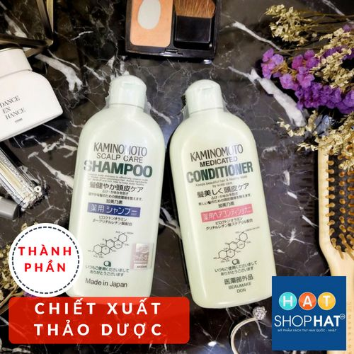 dầu-gội-kaminomoto-medicated-shampoo