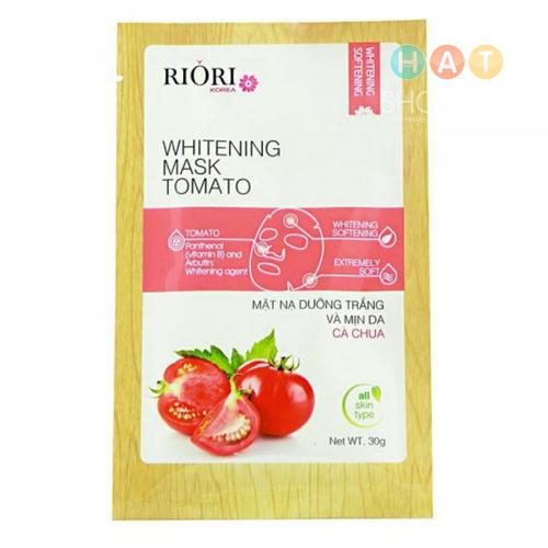 Mặt Nạ Dưỡng Ẩm Trắng Da Cà Chua Riori Mask Tomato