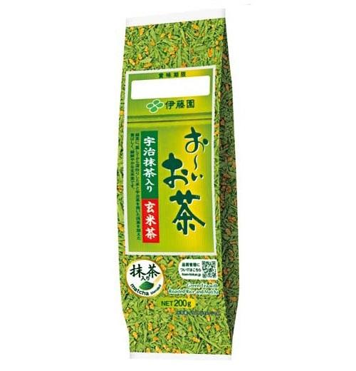 Trà Xanh Gạo Lứt Itoen Nhật Bản 200g – Giúp Thải Độc Tố