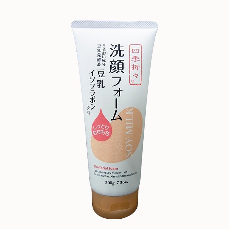 Sữa Rửa Mặt Đậu Nành Nhật Bản – Soy Milk The Facial Foam 200g