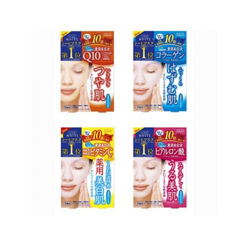 Mặt Nạ Collagen Kose Q10 – 5 Miếng