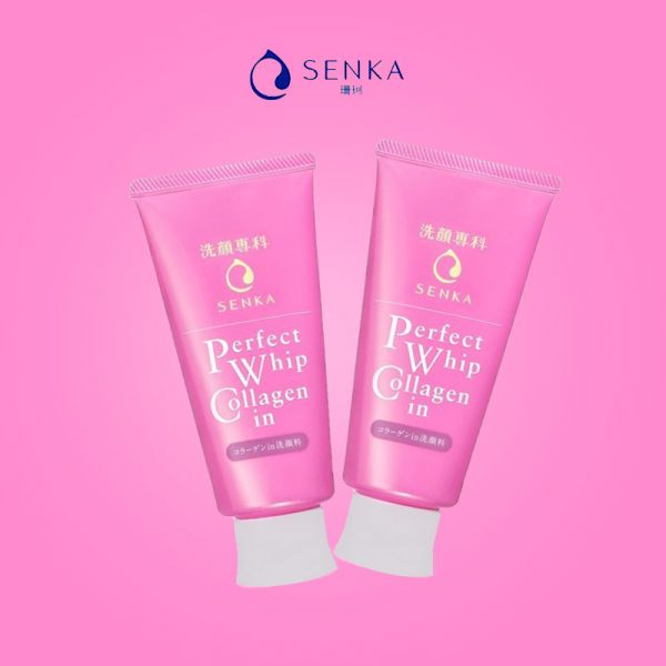 Sữa Rửa Mặt Shiseido Senka Perfect Whip Collagen In 120g