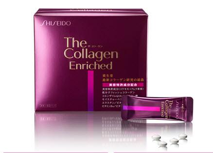 Collagen Enriched Shiseido 240 Viên