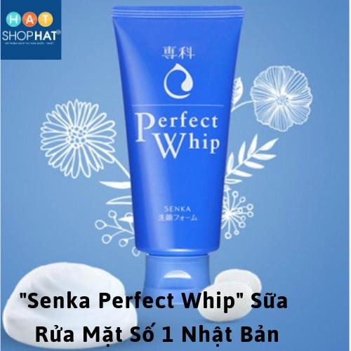 """""""Senka Perfect Whip"""" Sữa Rửa Mặt Số 1 Nhật Bản"""