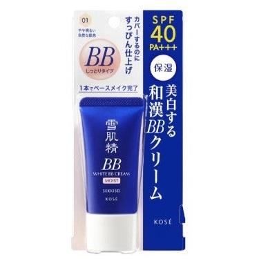 Kem Nền BB Kose Sekkisei White Cream Nhật Bản SPF40 PA+++