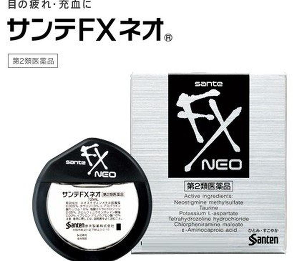 Thuốc Nhỏ Mắt Santa Fx Neo 12ml Nhật Bản
